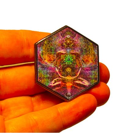 Hologramm Anstecker DIMA