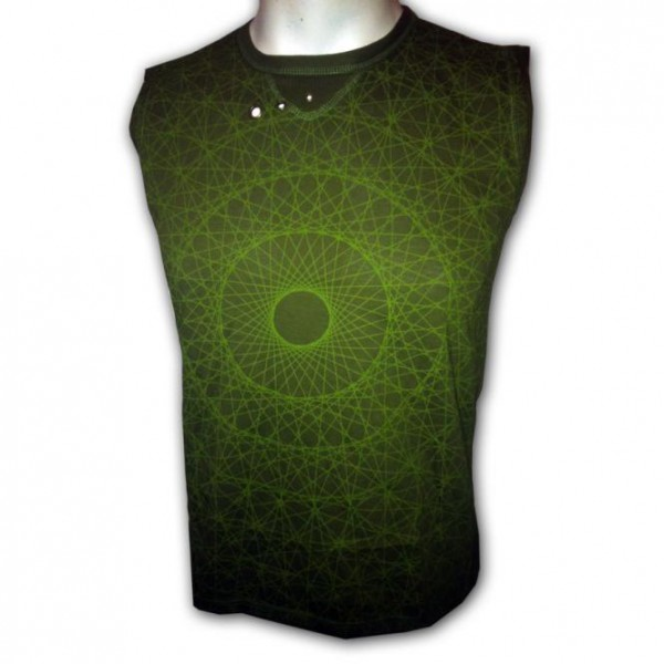 Tank Sacred Cosmos grün