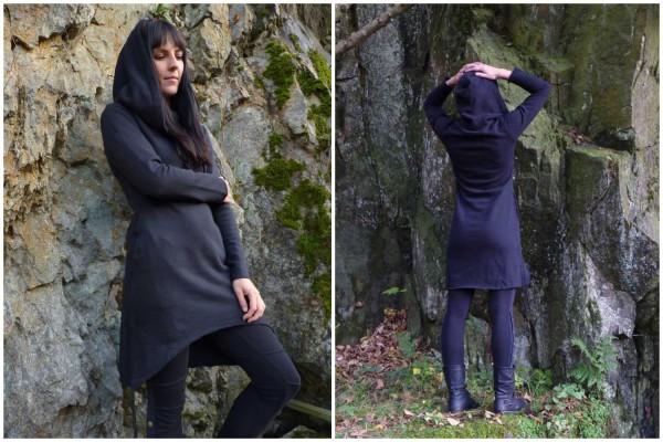 Kleid Runa schwarz