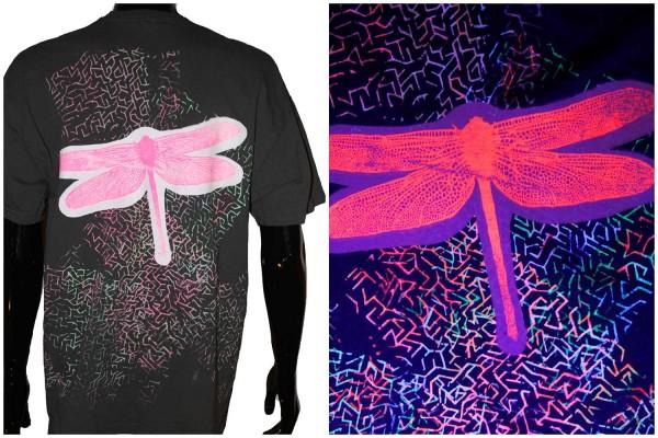 T-Shirt Libelle grau uv