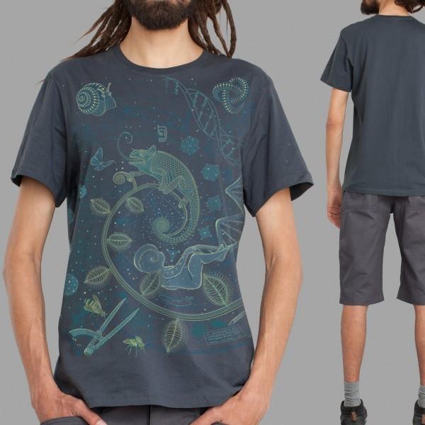 T-Shirt Land grau