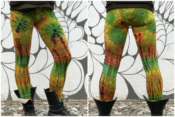Leggins Batik rainbow