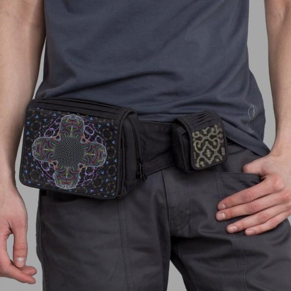 Belt Bag DMT HD Mandala schwarz