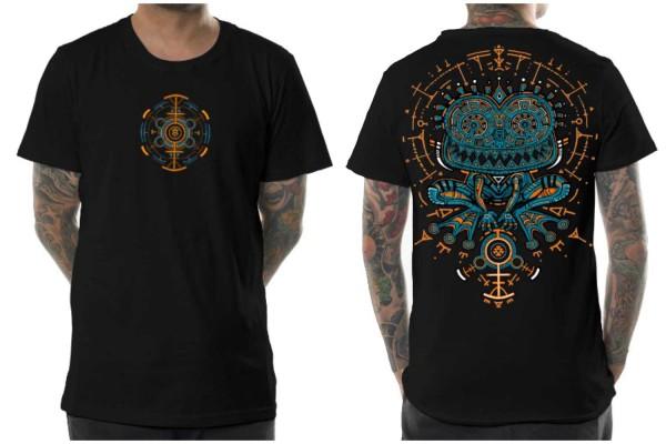 T-Shirt Psychotoad schwarz