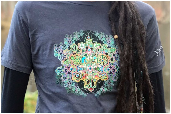 T-Shirt Coral Blast grau uv