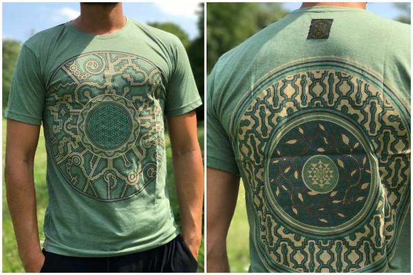 T-Shirt Mandala Ozean