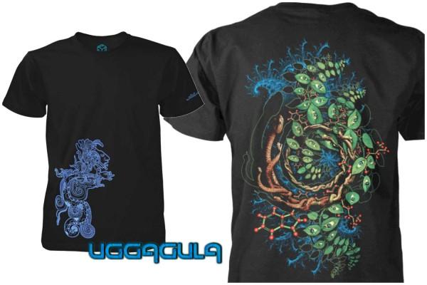 T-Shirt AYAHUASCA SPIRIT black