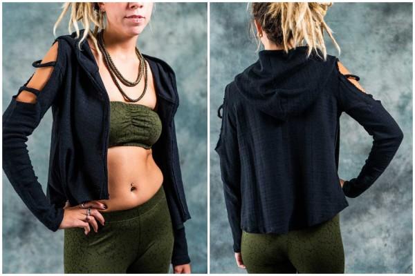 Jäckchen ✳ Knitted schwarz