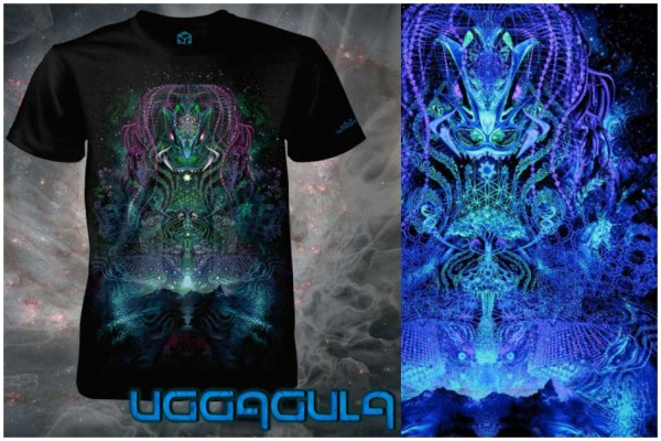 T-Shirt HUACHUMA black
