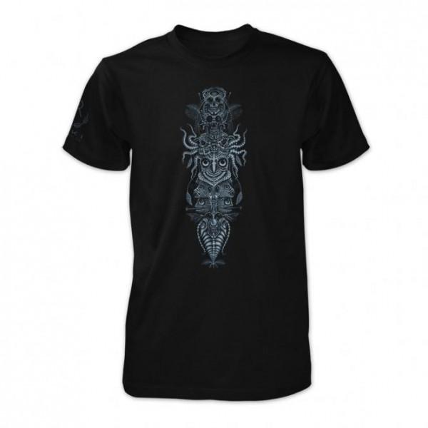 T-Shirt Spinal Totem schwarz
