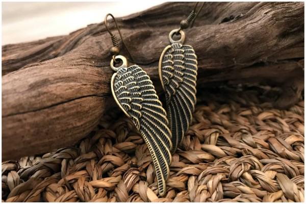 Ohrringe 11 Flügel