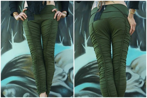 Leggings ✳ Hiker olive
