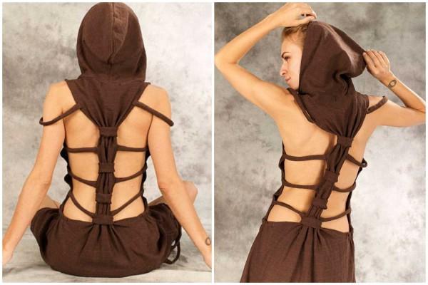 Kleid ✳ Burn braun