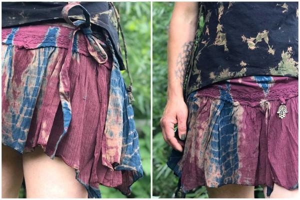 Rock Batik maroon