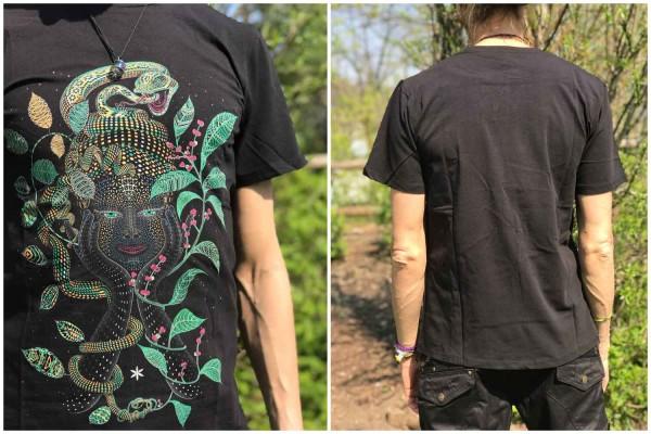 T-Shirt Aya schwarz Symbolika