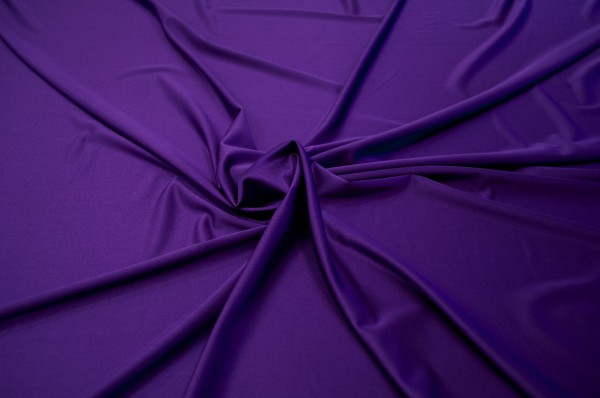 4 Way Stretch Stoff purple
