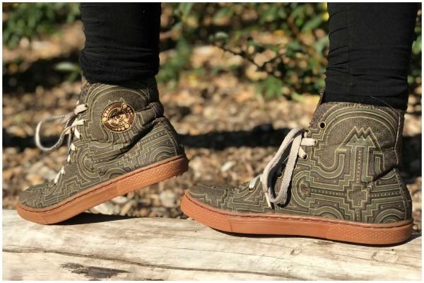 Schuhe Shipibo braun (girls)
