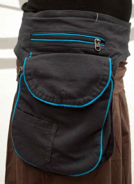 Gürteltasche dunkelblau grosse Tasche