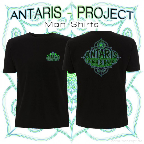 Antaris Project Shirt schwarz