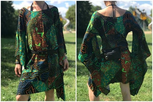 Kleid Ayahuasca UV