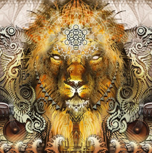 Hologramm Bild klein THE LION
