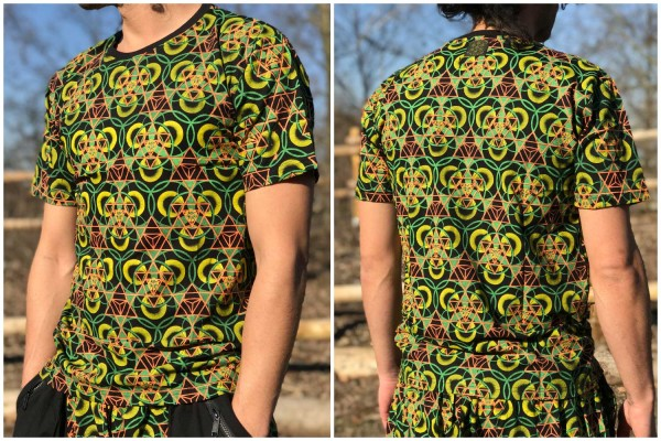 T-Shirt Biohazard uv