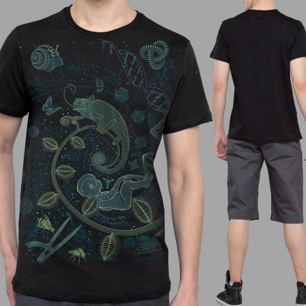 T-Shirt Land schwarz