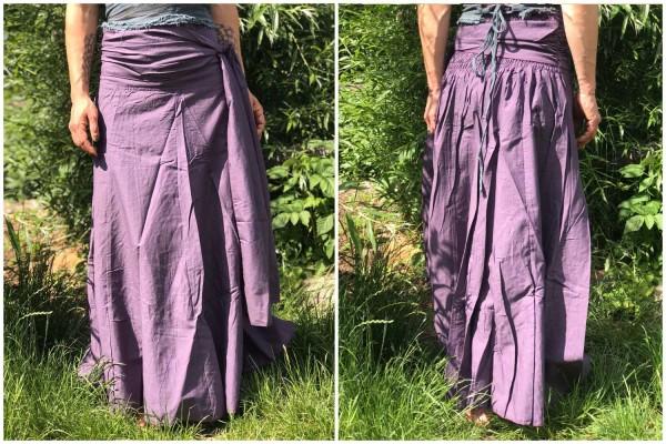 Rock / Kleid 2in1 Gypsy Style maroon