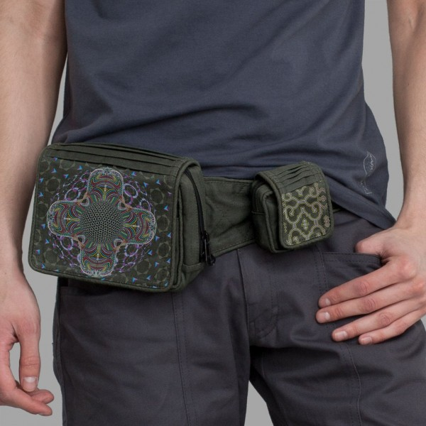 Belt Bag DMT HD Mandala khaki
