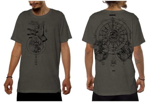 T-Shirt OBSCURE beije mouline