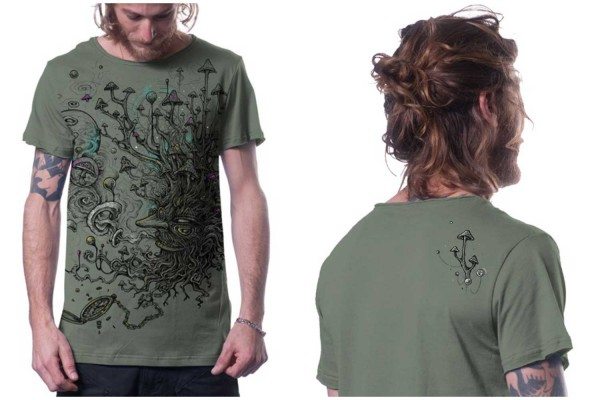 T-Shirt Shroombeard light green