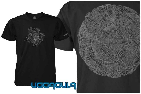 T-Shirt Phosphosphere black