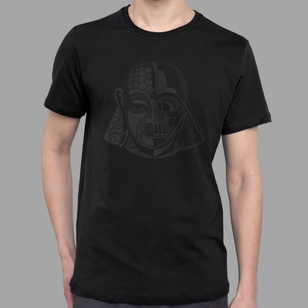 T-Shirt Darthbuddha schwarz
