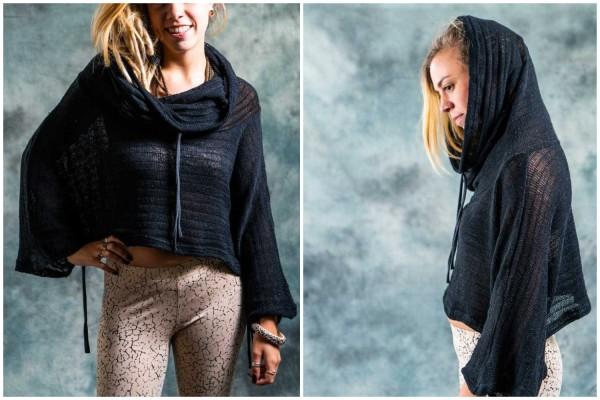 Pullover ✳ Knitted schwarz
