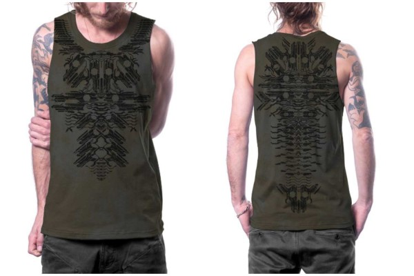 Tank Top RAZER stone rust