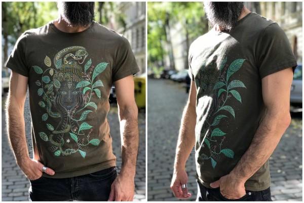 T-Shirt Aya olive