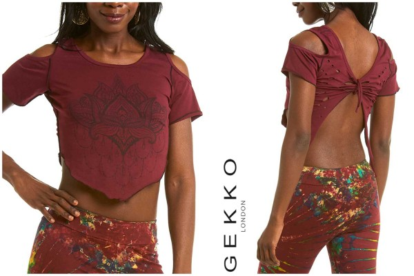 Top Lotus maroon