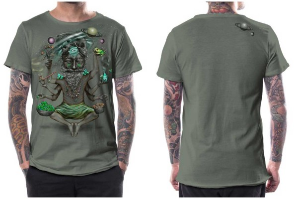 T-Shirt Saboosh light green