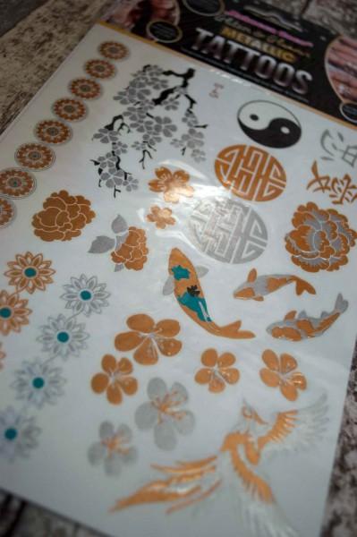 Metallic Tattoo YingYang UV