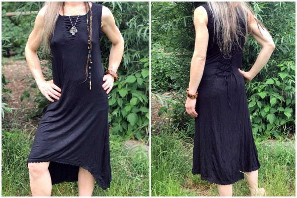 Kleid Borte schwarz
