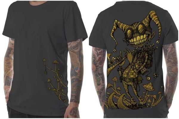 T-Shirt Fiddler grau